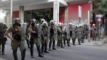 Εξάρχεια: Επιχείρηση της αστυνομίας σε υπό κατάληψη κτίρια