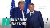 """Trump: """"China tiene que llegar a un acuerdo, no tiene otra opción"""""""
