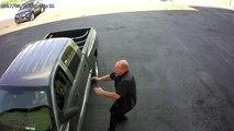Ce responsable de magasin de voiture prend de gros risques pour arreter un voleur