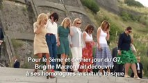 """G7: surf et protection des océans au menu des """"First ladies"""""""