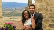 'Bachelorette' Couple Rachel Lindsay and Bryan Abasolo Get Married in Cancun | THR News