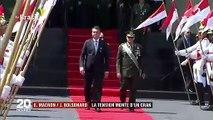 La tension monte d'un cran entre Macron et Bolsonaro