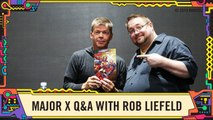 Marvel Comics Major X Q-A with Rob Liefeld at SDCC 2019