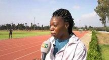 Jeux africains   Dernière séance entrainement Cissé et Elodie