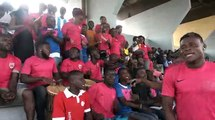 Football | LIGUE 1- 2ème journée : Les à côtés du match RCA vs USC BASSAM