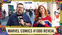 Neil Gaiman Revealed on Marvel Comics -1000 at This Week in Marvel LIVE at SDCC 2019-