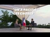 """Pour Macron, la taxe des États-Unis sur le vin français """"n'est plus d'actualité"""""""