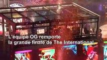 eSport: les vainqueurs d'un tournoi de DOTA 2 empochent 15 millions de dollars