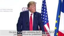 G7: Macron salue des avancées sur l'Iran