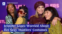 Jennifer Lopez Worried About Her Sexy 'Hustlers' Costumes
