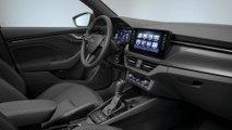 The new Skoda Kamiq city SUV Interior Design