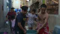 Philippines suffers from water shortage for days