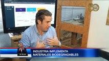 Industria utiliza materiales biodegradables para crear nuevos productos