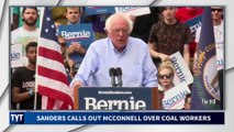 Bernie SMACKS Mitch McConnell In The FACE