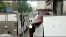 Madrid frappée par un énorme orage de grêle, jusqu'à 40 l/m2 de précipitations