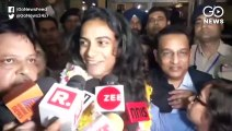 PV Sindhu Comes Home To a grand Welcome After Winning Gold