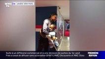 Le rêve de Baba Junior de rencontrer Kylian Mbappé a été exaucé dimanche au Parc des Princes