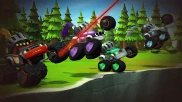 Blaze and the Monster Machines S02E07 Knight Riders