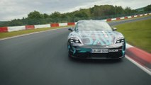 New Porsche Taycan - Record time on the world's most challenging race track