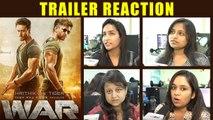 War Trailer Reaction: Hrithik Roshan | Tiger Shroff | Vaani Kapoor | FilmiBeat