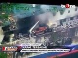 Bangkai KM Santika Nusantara yang Terbakar Ditemukan
