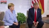 """Donald Trump : sa vidéo """"épique"""" sur Twitter pour raconter à sa façon le G7"""