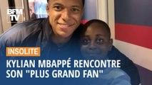 """Kylian Mbappé rencontre enfin son """"plus grand fan"""""""