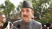 Situation Not Normal In J&K: Ghulam Nabi Azad