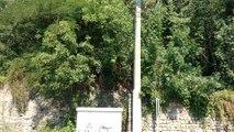 Des fouilles pour des ossements sur le terrll Sainte Désirée a Hornu. Vidéo Eric GHISLAIN
