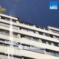 Un gros bloc de béton chute du huitième étage d'un immeuble d'Amiens