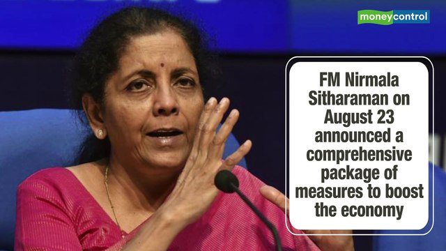 Finance Minister Sitharaman gives automobile sector a Diwali gift