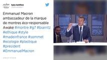 Quelle est cette montre affichée par Emmanuel Macron lors du JT de France 2?
