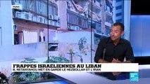 """Israël : Netanyahu appelle le Hezbollah et le Liban à """"prendre garde"""" à leurs actions"""