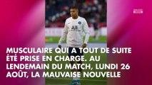 PSG : Kylian Mbappé blessé, il donne de ses nouvelles sur Instagram