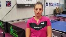 """Pauline Chasselin ( Metz TT) : """"objectif quarts de finale"""""""