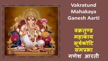 Shraddha Jain - Vakratund Mahakaya Ganesh Aarti | वक्रतुण्ड महाकाय सूर्यकोटि समप्रभा गणेश आरती