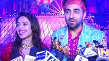 Ayushmann Khurrana & Nushrat Bharucha look happy for Dream Girl Trailer loves from fans | FilmiBeat