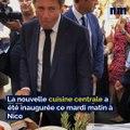 La nouvelle cuisine centrale qui alimente les cantines scolaires de Nice inaugurée ce mardi matin