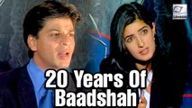 20 Years Of Baadshah: Shah Rukh & Twinkle At The Launch Party | Flashback Video