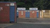 Hundreds turn up to help clean Bury FC's stadium