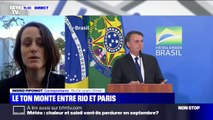 """Amazonie: Jair Bolsonaro se dit prêt à discuter d'une aide du G7 à condition qu'Emmanuel Macron """"retire ses insultes"""""""