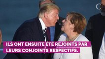 PHOTOS. Brigitte Macron, Melania Trump... ces bisous lors de la photo officielle du G7 qui font jaser