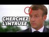 Macron embêté par une mouche en pleine interview avec Lapix