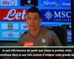 """Naples - Lozano : """"Je suis heureux de rejoindre ce grand club"""""""