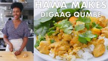 Hawa Makes Didaag Qumbe (Somali Stew)
