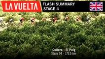 Flash Summary - Stage 4 | La Vuelta 19