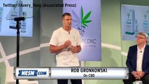Best Moments From Rob Gronkowski's  CBD Press Conference