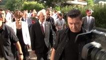 Kemal Kılıçdaroğlu Şile'de muhtarlarla bir araya geldi