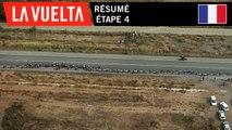 Résumé - Étape 4 |La Vuelta 19