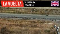Summary - Stage 4   La Vuelta 19